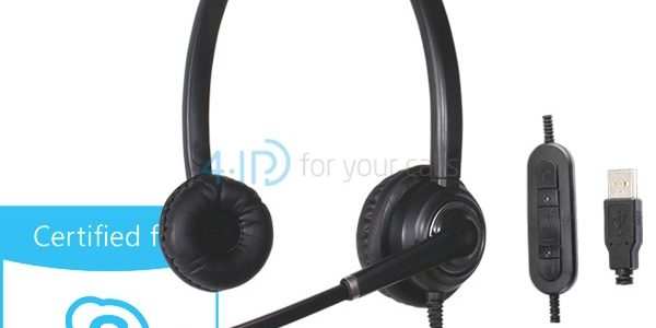 Słuchawki Platora Pro-D USB Skype for Business